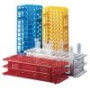 Estante em Plástico 36 Tubos de 17 mm Com Orifício Quadrado - Ver opções disponíveis Tamanhos e preços